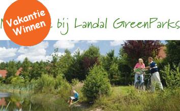 Hedendaags Gratis Landal Greenparks verblijf winnen. Win een bungalow TD-38