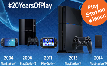 Playstation winnen, Win PS4 games of PS game goodies