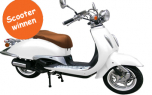 Gratis scooter winnen of win een retro scooter
