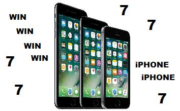 Win een nieuwe iphone 7
